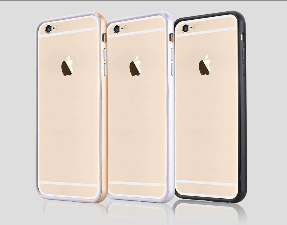 USAMS Apple iPhone 6 Plus 5.5 Inch High Quality TPU Cover + Frame ...