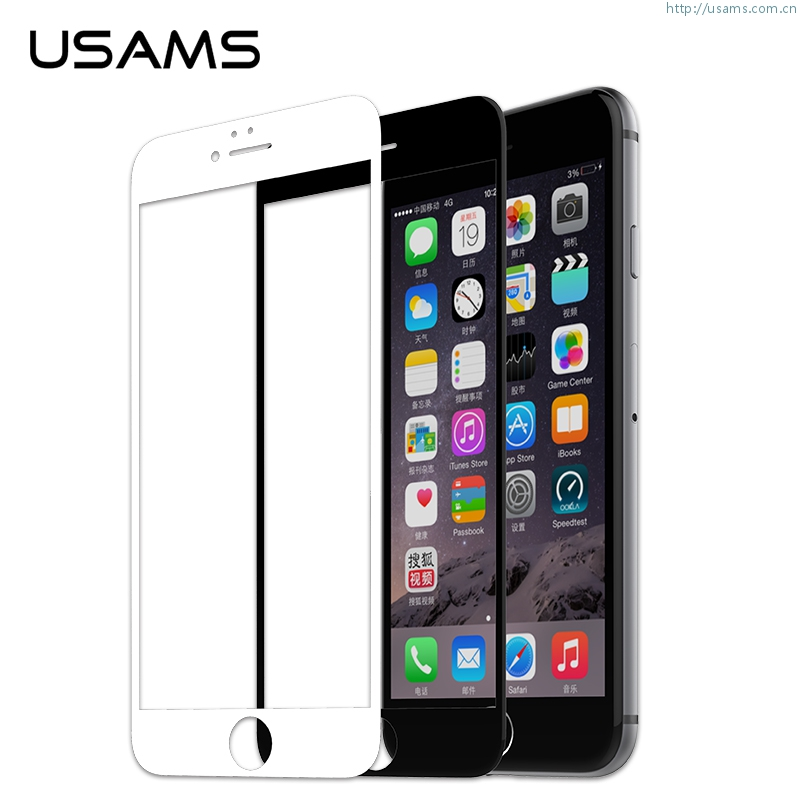 3D Tempered Glass For Apple iPhone 6S Plus & 6 Plus 5.5 Inch Screen Covering Design Ultrathin Tempered Glass Screen Guard Protective Film 9H