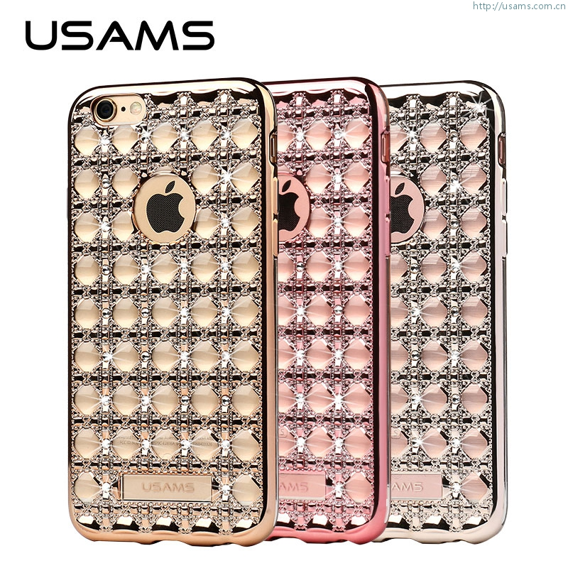 Ross Series Case For iPhone 6S Plus & 6 Plus 5.5 Unique Design Case Cover Luxury Diamond TPU Back Cover TOP Cas