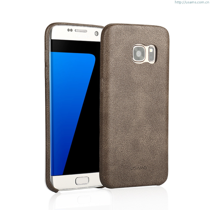 newest 8c8b0 167da Samsung Galaxy S7 Edge Bob Series Soft Case Back Cover Ultra Thin Soft PU  Leather Case Purchased