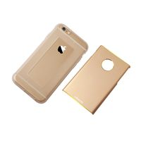iPhone 6 4.7 Inch Unique Design Removable Aviation Aluminum Back Case Noble Series