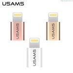 USAMS Lightning To Micro OTG Adapter IP6S-Micro OTG Adapter New Design