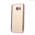 Electroplated Cover For Samsung Galaxy S7 Kingsir Series Soft Case Back Cover Ultra Thin Soft PC Leather Case