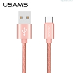 USAMS USB2.0 Type-C Data Cables 1M U-knit Series Fast Date Transmit And Fast Charging
