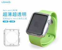 Apple Watch 38mm&42mm TPU Case Back Cover Ultra Thin Soft Transparent Primary Series