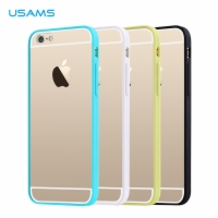 Apple iPhone 6 TPU Case + Frame PC Colors Ultra Thin Soft Transparent Edge Color Series
