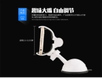 Big Mouth Series 360 Rotating Mobile Phone Car Display Stand Car Mobile Phone Holder For Smart Phone