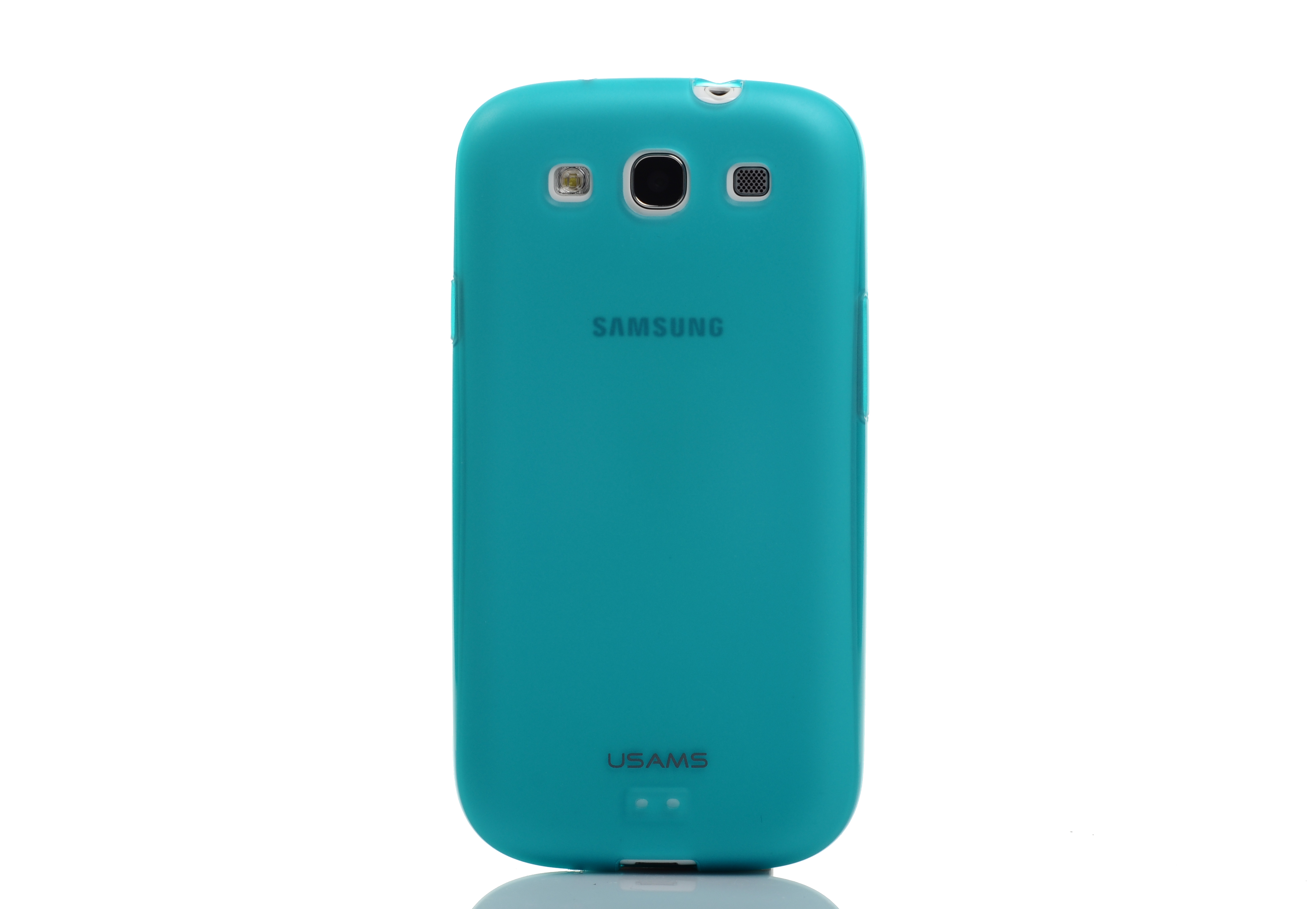 USAMS Samsung I9300 GALAXY SIII Case Cover Jelly Series Blue