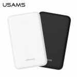 USAMS US-CD09 Pank 10000mah Power Bank Quick Charge External Battery 2nd Generation Supports 18W Fast Charging For Mobile Phones