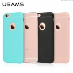 Soft Color Series Case For iPhone 6S & 6 4.7 Fashion Case Cover Luxury TPU Back Cover TOP Case