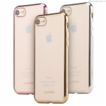 Ultra Thin Soft Case Cover iPhone 7 Luxury Kim Series TPU High Quality Plastic Electroplating Back Cover Case