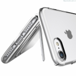 Ultra Thin Soft TPU + Stand Case Cover iPhone 7 Bright Series Luxury TPU High Quality TPU + Stand Cover Case
