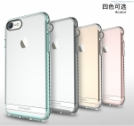 Ultra Thin Soft Transparent TPU + PC Case Cover iPhone 7 Luxury Mingo Series TPU High Quality TPU + PC Cover Case