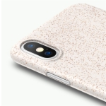 iPhone X Back Case Cover Wheat Fiber Material Mando Series