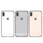 Cover For iPhoneX Back Case Primary Seires Luxury Case Transparent Cover Case