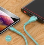 USB Charging and Data Cable US-SJ360 U33 Ultra-thin Reversible USB Charging and Data Cable