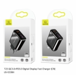 Fast Charging Charger US-CC084 T23 QC3.0+PD3.0 Digital Fast Charging Charger(CN)