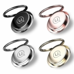 306 Rotation Magnetic Ring Universal Phone Holder USAMS 360 Rotation Aluminium Alloy Portable Holder for iPhone Samsung HTC LG Xiaomi Mobile Phone
