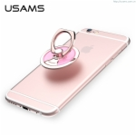 Fashion Ring Universal Phone Holder USAMS 360 Rotation Aluminium Alloy Portable Holder for iPhone Samsung HTC LG Xiaomi Mobile Phone